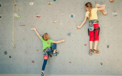Kids climbing the walls? Benefits of getting children climbing